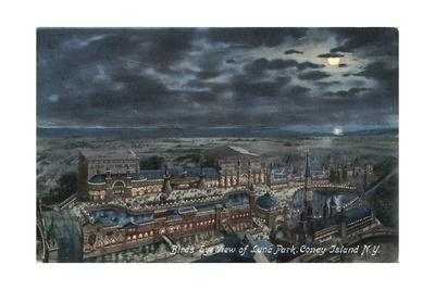 Bird's Eye View of Luna Park--Giclee Print