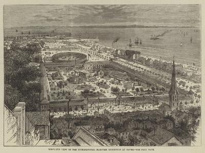 Bird'S-Eye View of the International Maritime Exhibition at Havre--Giclee Print