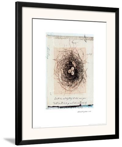 Bird's Nest-Julie Nightingale-Framed Art Print