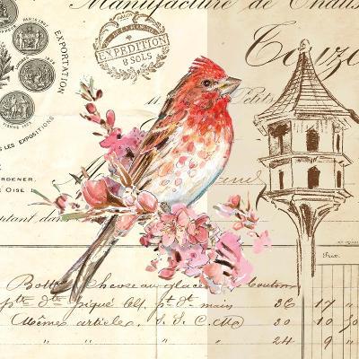Bird Sketch 1-Chad Barrett-Art Print