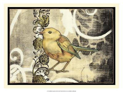 Bird Song II-Jennifer Goldberger-Art Print