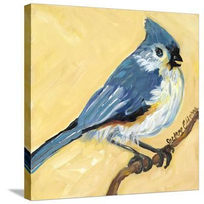 Bird Square II-Suzanne Etienne-Stretched Canvas Print