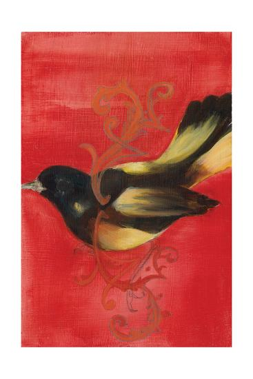 Bird Study IV-Arielle Adkin-Art Print