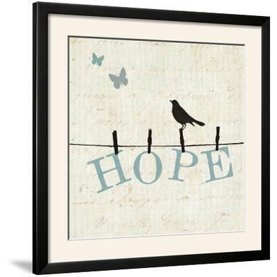 Bird Talk I-Pela Design-Framed Photographic Print