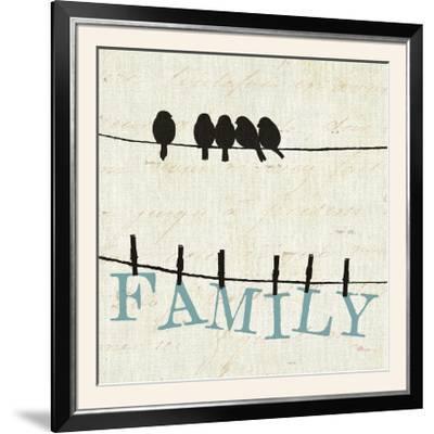 Bird Talk III-Pela Design-Framed Photographic Print