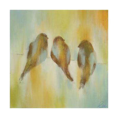 Bird Trio I-Jeni Lee-Premium Giclee Print