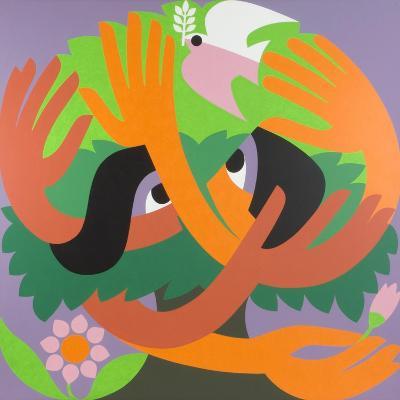 Bird Watchers, 1973-Ron Waddams-Giclee Print