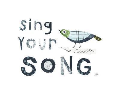 Bird Words III-Melissa Averinos-Art Print