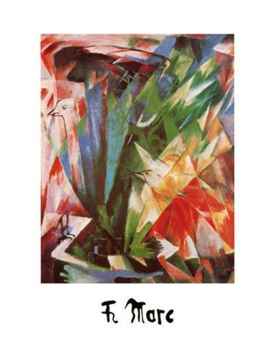 Bird-Franz Marc-Art Print