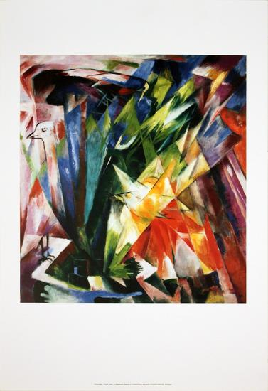 Bird-Franz Marc-Art Print