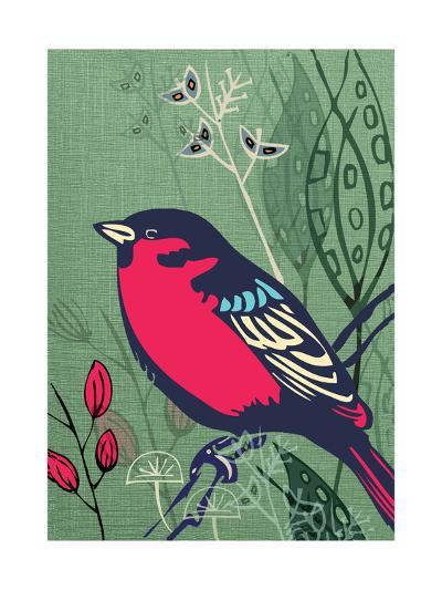 Bird-Rocket 68-Giclee Print