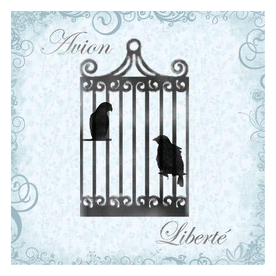 Birdcage 4-Lauren Gibbons-Art Print