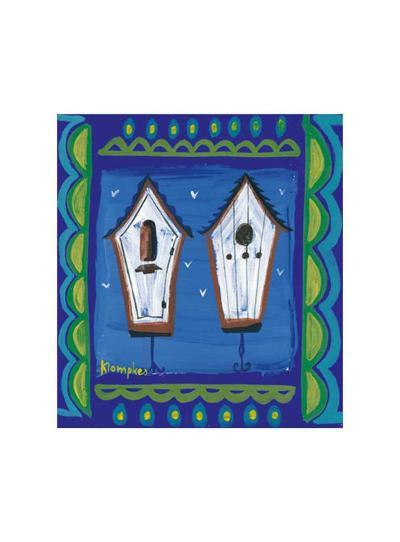 Birdhut II-Olivier Klompkes-Art Print