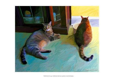 Birdie and Sweepo-Robert Mcclintock-Art Print