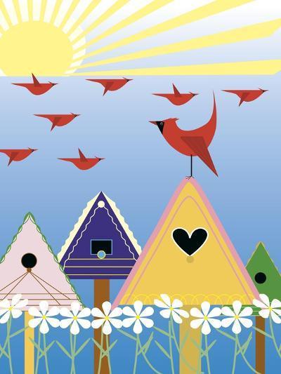Birdie Freeway-Marie Sansone-Giclee Print