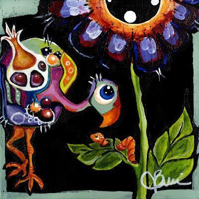 Birdie III-Jami Vestergaard-Art Print