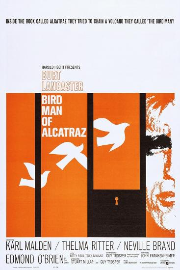 Birdman of Alcatraz--Art Print