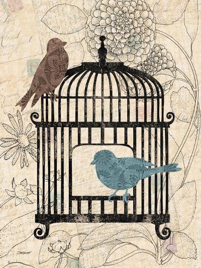 Birds and Blooms II-Todd Williams-Art Print