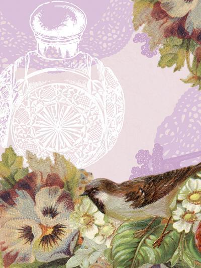 Birds and Ornaments VI-Clara Wells-Art Print