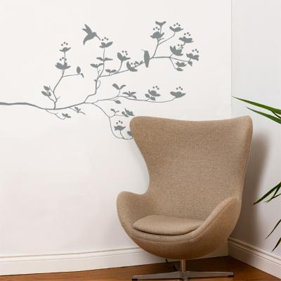 Birds & Buds Wall Decal--Wall Decal