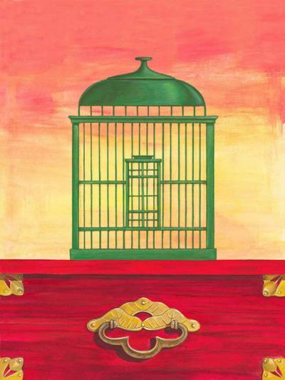 Birds Chage II-Diego Patrian-Art Print