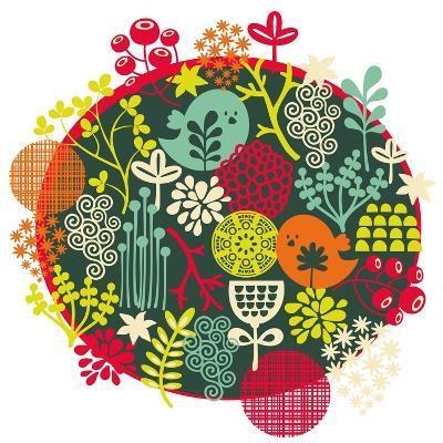 Birds, Flowers And Other Nature-panova-Art Print