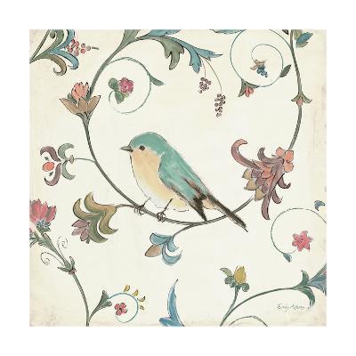 Birds Gem II-Emily Adams-Art Print