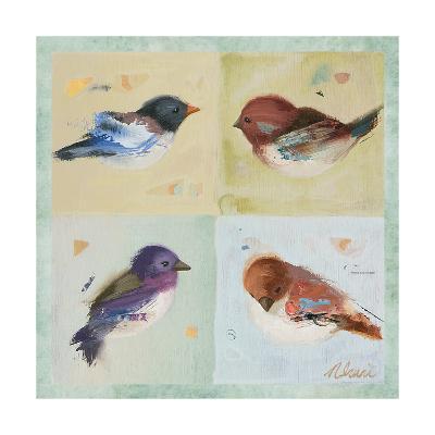Birds I-Ninalee Irani-Art Print