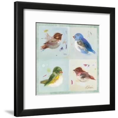 Birds II-Ninalee Irani-Framed Premium Giclee Print