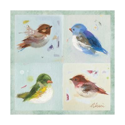 Birds II-Ninalee Irani-Art Print