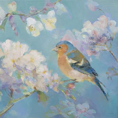 Birds in Blossom - Detail II-Sarah Simpson-Art Print