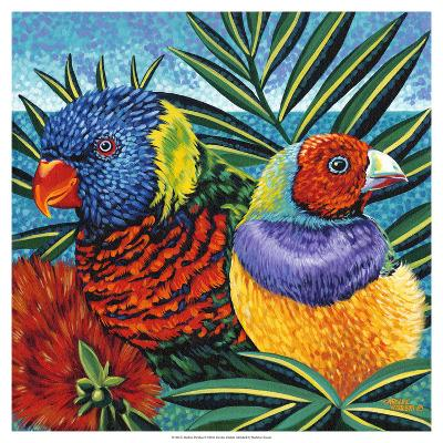 Birds in Paradise II-Carolee Vitaletti-Art Print