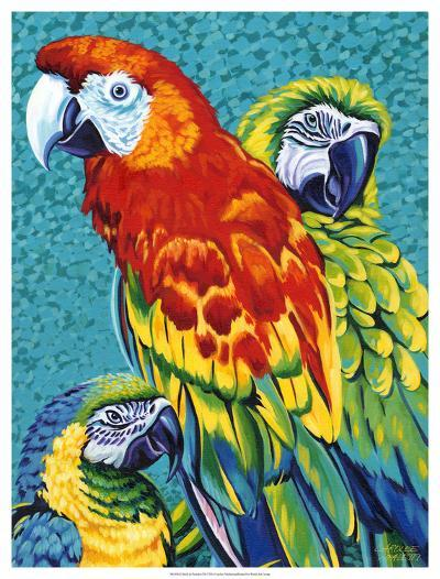 Birds in Paradise III-Carolee Vitaletti-Art Print