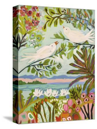 Birds in the Garden I