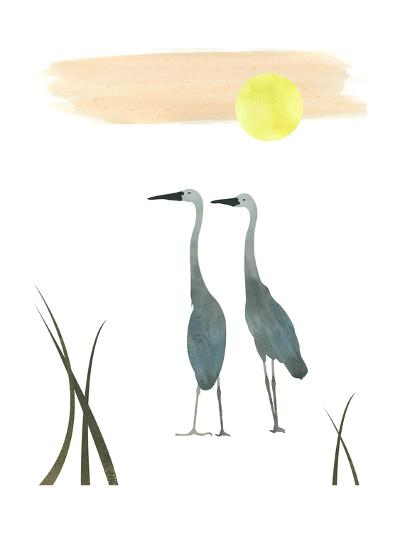 Birds in the Sun-sooyo-Art Print