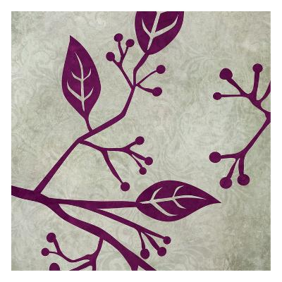 Birds & Leaves 1-Kristin Emery-Art Print