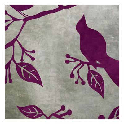 Birds & Leaves 2-Kristin Emery-Art Print