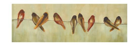 Birds of a Feather Panel II-Jeni Lee-Art Print