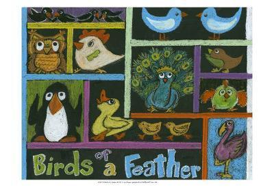 Birds of a Feather-Lisa Choate-Art Print