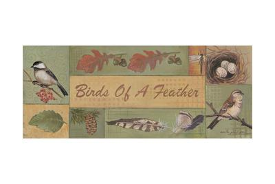 Birds of a Feather-Anita Phillips-Art Print