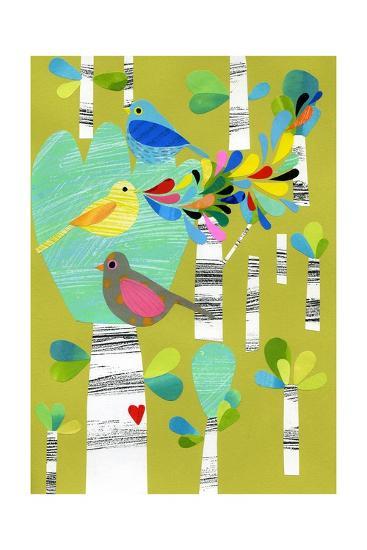 Birds of the Forest-Anne Vasko-Giclee Print