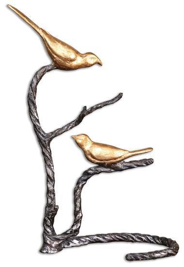 Birds On A Limb Sculpture--Home Accessories