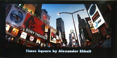 Birds on Broadway-Alexander Ehhalt-Art Print