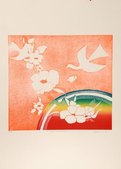 Birds, Rainbow V-Mireille Kramer-Limited Edition