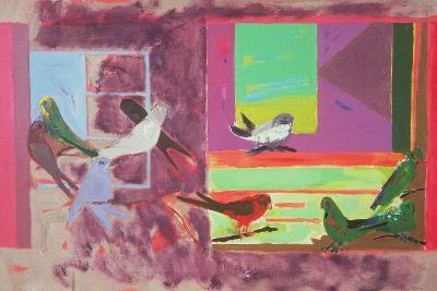 Birds Together, 1971-David Alan Redpath Michie-Giclee Print