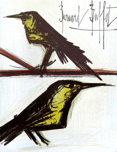 Birds-Bernard Buffet-Collectable Print