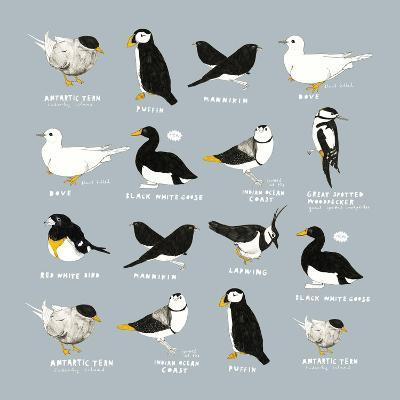 Birds-Hanna Melin-Giclee Print