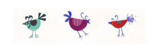 Birds-Beverly Johnston-Giclee Print
