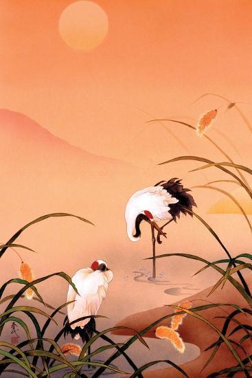 Birds-Haruyo Morita-Art Print