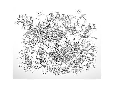 Birds-Neeti Goswami-Art Print